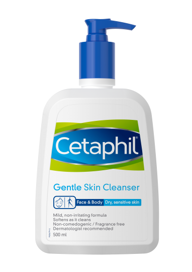Cetaphil gentle skin cleanser for face and body - Front