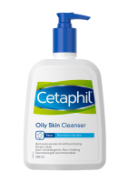 Cetaphil oily skin cleanser for oily to normal skin | front